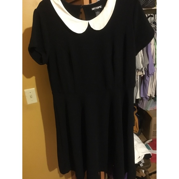 Hot Topic Dresses | Plus Size Wednesday Addams Costume | Poshmark
